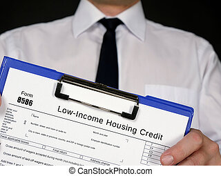 Form 8586 Low-Income Housing Credit