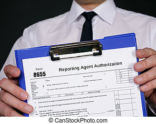 Form 8655 Reporting Agent Authorization