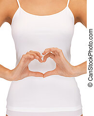 form of heart shaped