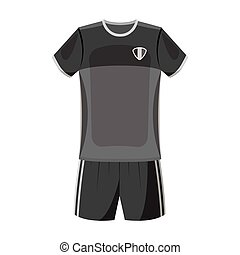 Form of the Belgian football team.The dark Belgian wolf. Belgium single icon in monochrome style vector symbol stock illustration.