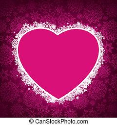 forma, 8, cornice, heart., eps