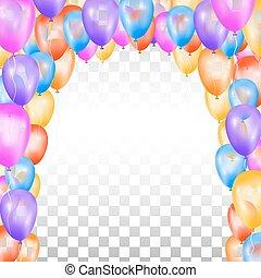 forma, arch., balões