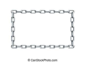 forma, cadena, rectángulo