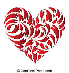 forma cuore, disegno