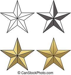 forma, estrella