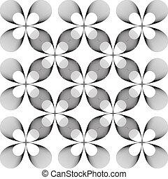 forma, flor, hipnotic