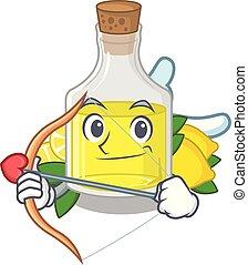 forma, olio, limone, cupido, mascotte
