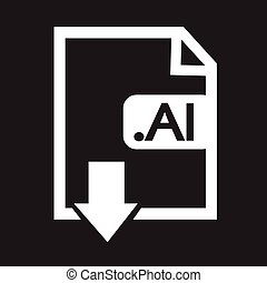 Formaat,  Ai, beeld, bestand,  type, pictogram