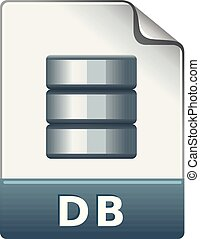 formaat, kleur, -, db, bestand, pictogram