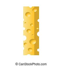 formaggio, lettera