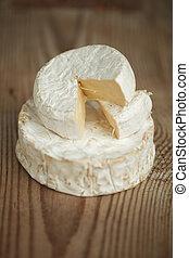 formaggio, pezzo, brie
