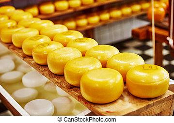 formaggio, produzione