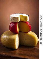 formaggio, vita, ancora
