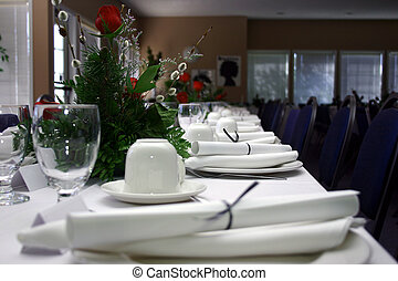 Formal Banquet IV - A Hi-Res picture of a formal banquet.