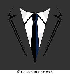 Formal Business Suit & Tie