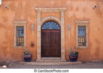 Formal Entrance Doorway