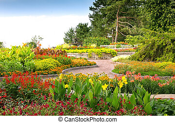 Formal Garden at Minnesota Landscape Arboretum