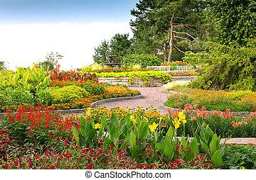 Formal Garden at Minnesota Landscape Arboretum