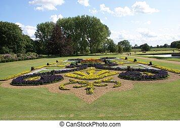 formal garden - garden