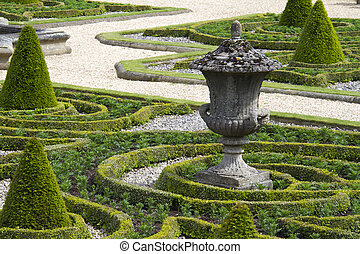 Formal gardens - Beautiful geometrical design Formal garden