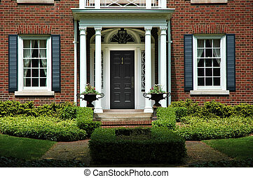 Formal Home Entrance
