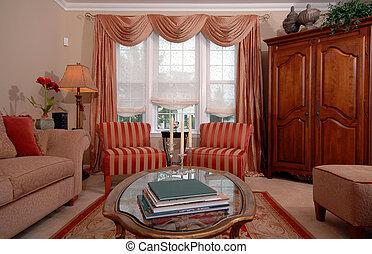 living room - formal living room