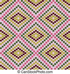 formar, mönster, geometrisk, sicksack