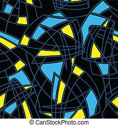 formas, 1, abstratos, seamless, padrão