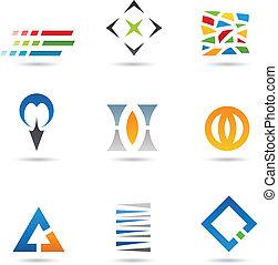 formas, abstratos, 2