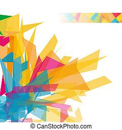 formas, abstratos, geomã©´ricas, fundo
