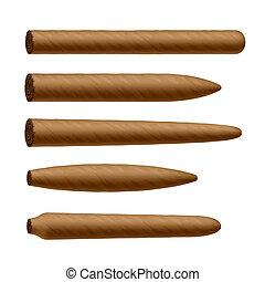 formas, cigarro