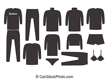 formas, colete, jogo, camisetas, vetorial