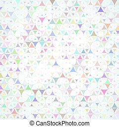 formas, dispersado, plano de fondo, multicolor