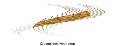 format, zigzag, modèle, rectangulaire, onduler, lignes, ...