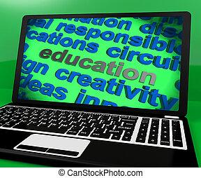 formation, écran, apprentissage, enseignement, education, spectacles
