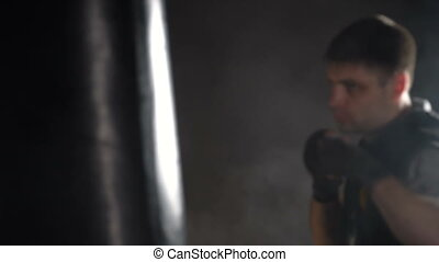 formation, boxeur, gymnase