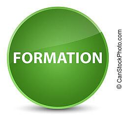 Formation elegant soft green round button