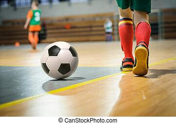 formation, football, enfants