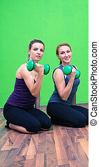 formation, haltère, fitness
