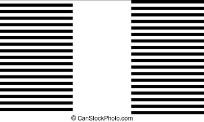 formation of stripes for transition