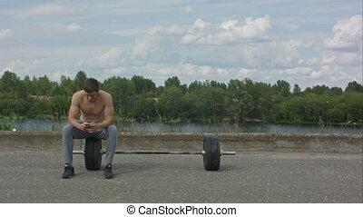 formation, sien, mobile, prendre, après, sportif, coupure, téléphone, quoique, dehors, actif, utilisation, mâle, intense