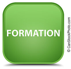 Formation special soft green square button