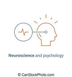 formation, tâche, pensée, psychologie, mindset, créatif, cerveau, neurologie, critique, confection, décision, logo