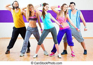 formation, zumba, danse, danseur, studio, fitness