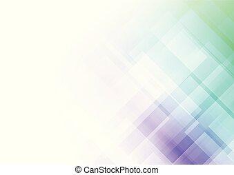 forme, astratto, quadrato, fondo