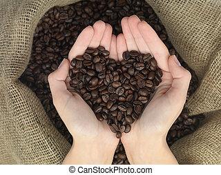 forme coeur, coffe