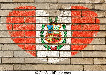 coeur mexique mur forme drapeau brique coeur mexique images de stock rechercher des. Black Bedroom Furniture Sets. Home Design Ideas