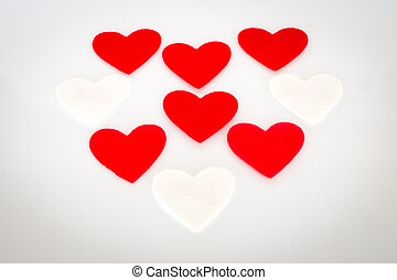 forme coeur, fond