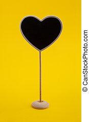 forme coeur, peu, tableau