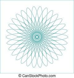forme géométrique, watermark, spirograph, suitable